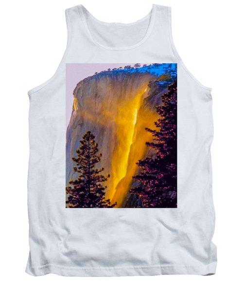 Yosemite Firefall Painting Tank Top