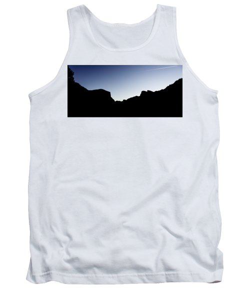 Yosemite In Silhouette Tank Top