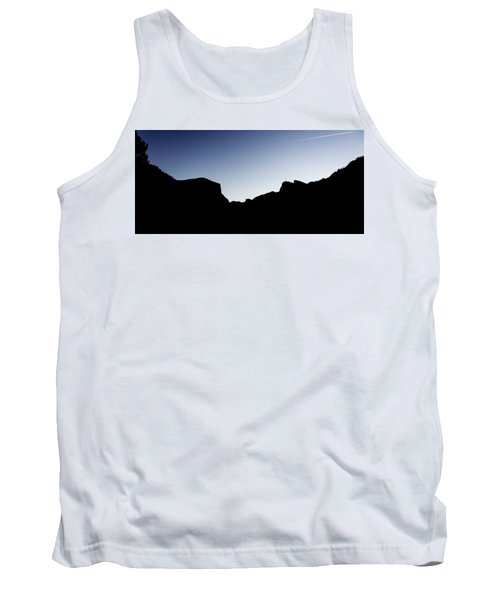 Yosemite In Silhouette Tank Top