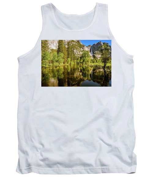 Yosemite Reflections On The Merced River Tank Top