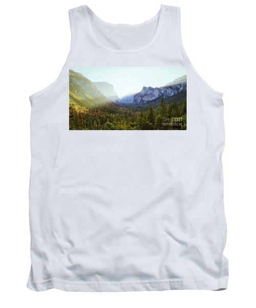 Yosemite Valley Awakening Tank Top by JR Photography