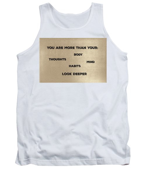 You Are More #2 Tank Top