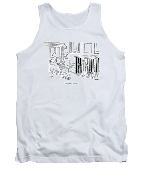 You Have A Picasso Tank Top