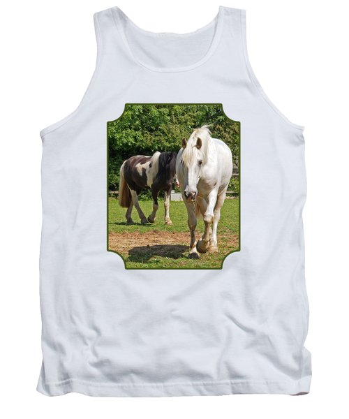 You Lead I'll Follow - Horse Friends Tank Top