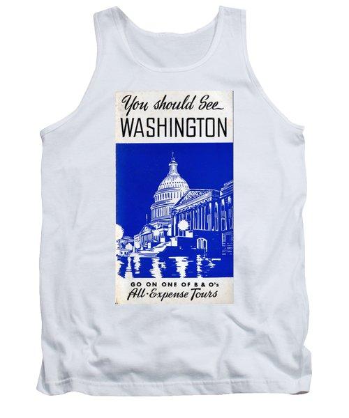 You Should See Washington Tank Top