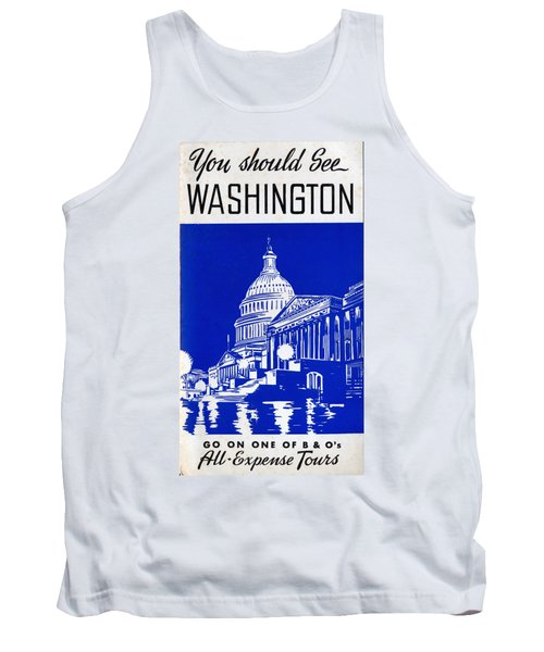 You Should See Washington Tank Top
