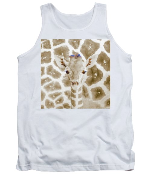 Young Giraffe Tank Top