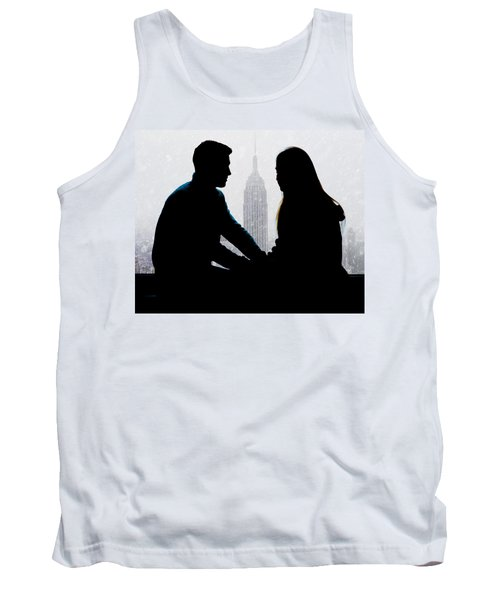Tank Top featuring the photograph Young Love     by Chris Lord