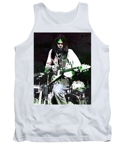 Young Neil Tank Top by John Malone