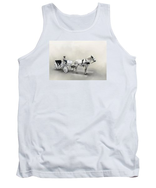 Your Carriage Awaits Tank Top by David and Carol Kelly