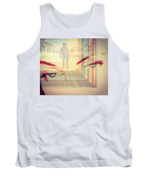 Your Eyes Only Tank Top by Theresa Marie Johnson