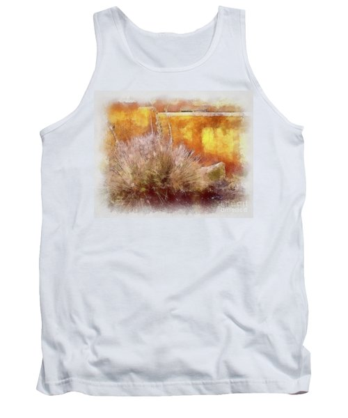Yucca And Adobe In Aquarelle Tank Top