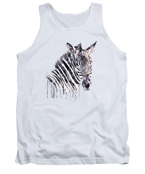 Zebra Head Tank Top
