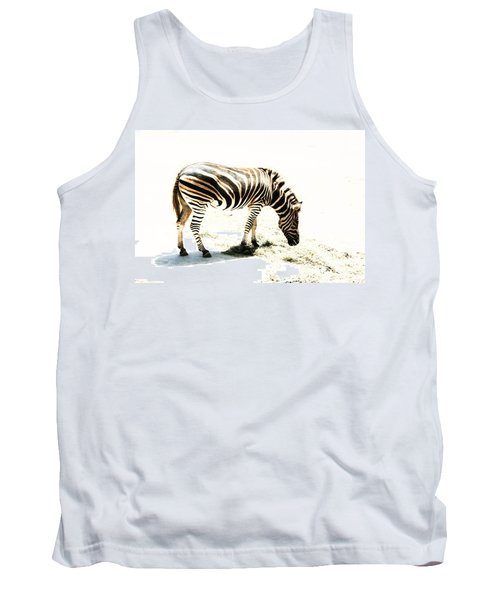 Zebra Stripes Tank Top