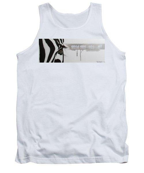 Zebra Tears Tank Top
