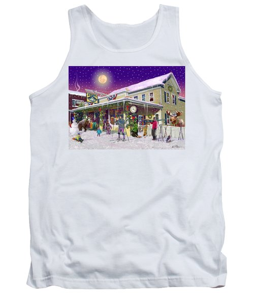 Zebs General Store In North Conway New Hampshire Tank Top by Nancy Griswold