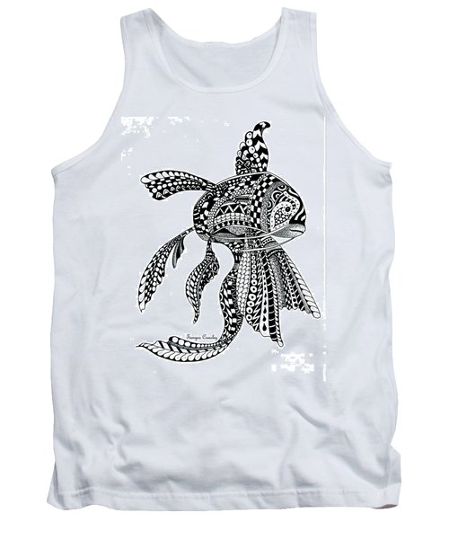 Zen Goldfish Tank Top