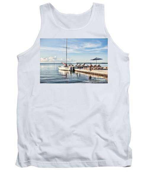 Tank Top featuring the photograph Zen Say by Lawrence Burry