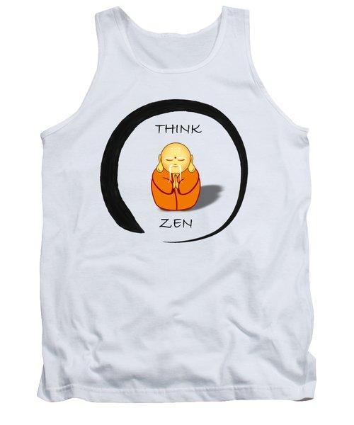 Zen Symbol With Buddha Tank Top