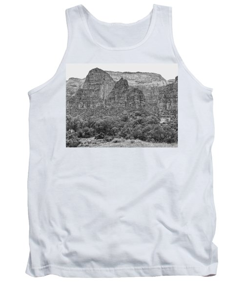 Zion Canyon Monochrome Tank Top