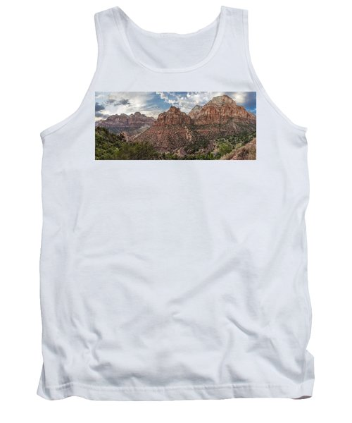 Zion National Park Switchback Road Tank Top