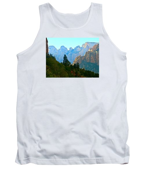 Zion's Hint Of Blue Tank Top