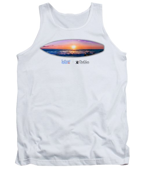 A Purple Orange Majestic Sunset -- Png Tank Top