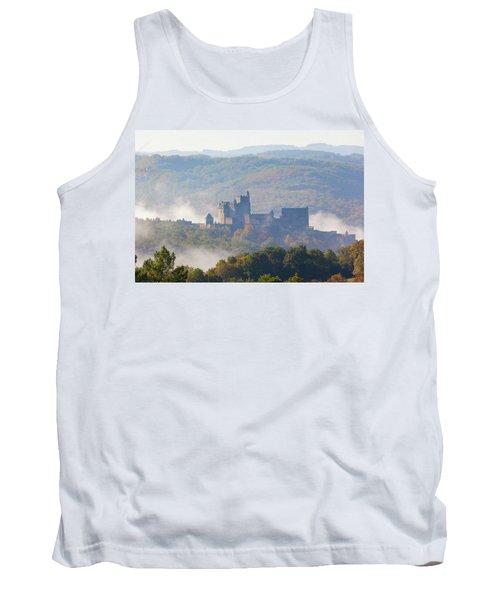 Chateau Beynac In The Mist Tank Top