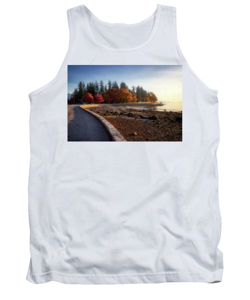 Colorful Autumn Foliage At Stanley Park Tank Top