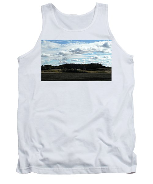 Country Autumn Curves 3 Tank Top