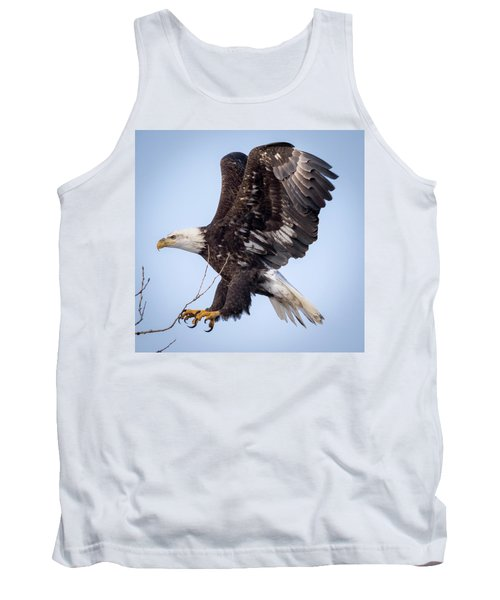 Eagle Coming In For A Landing Tank Top