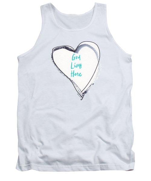 God Lives Here Tank Top