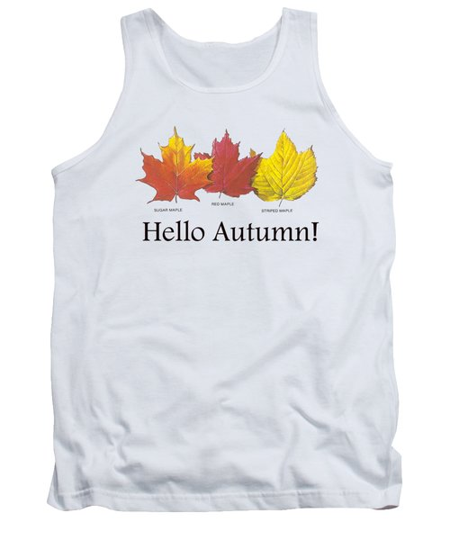 Hello Autumn Tank Top
