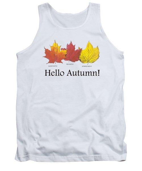 Hello Autumn Tank Top