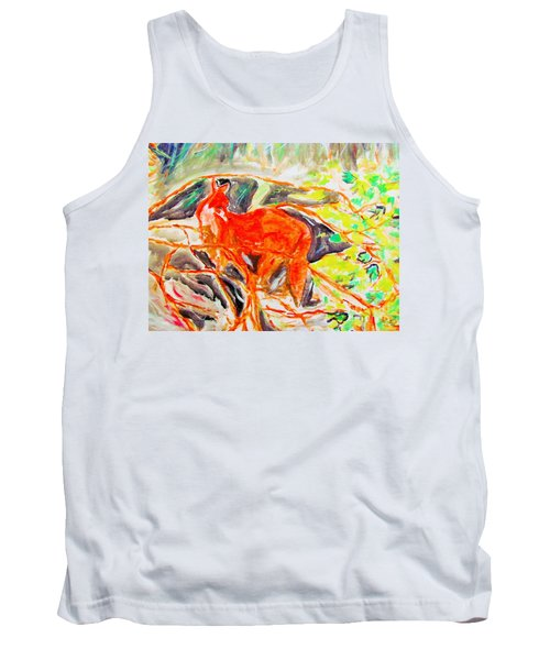 Hidden Fox Tank Top