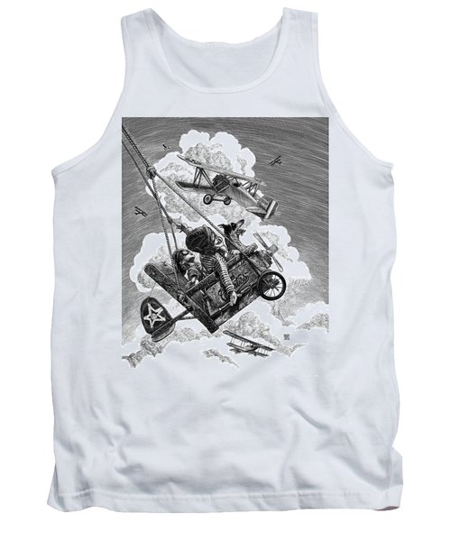 I Want To Fly Tank Top