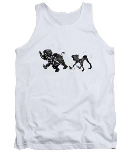Mowgli And Baby Elephant Tank Top