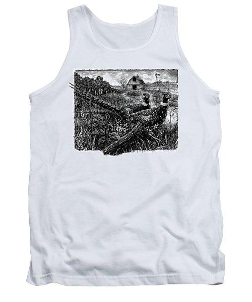 Pheasants Tank Top