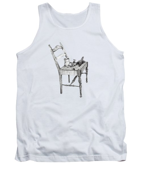Still Life Chair And Food Tank Top