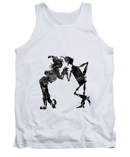 Tin Woodman And Scarecrow Tank Top