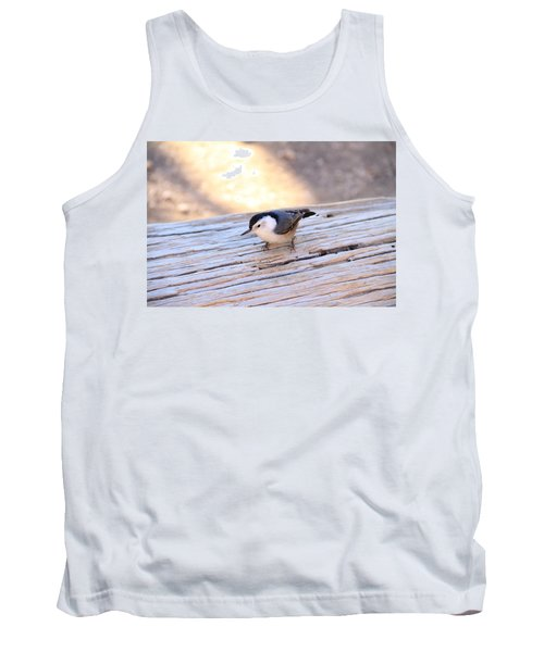 White Breasted Nuthatch Tank Top