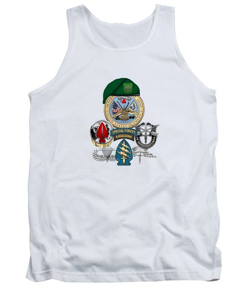 10th Special Forces Group - Green Berets Special Edition Tank Top