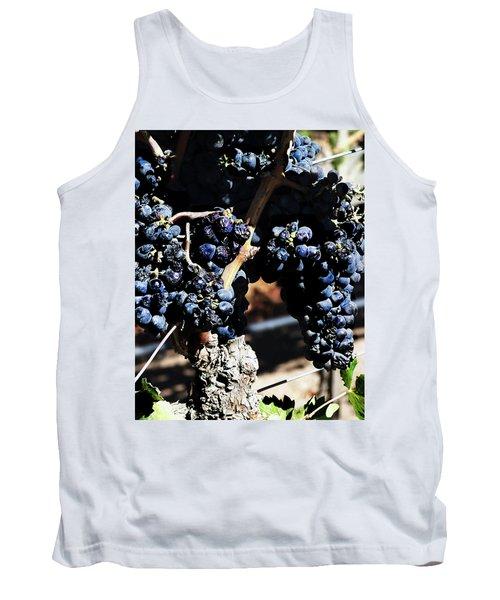 122918 Wine On The Vine Tank Top