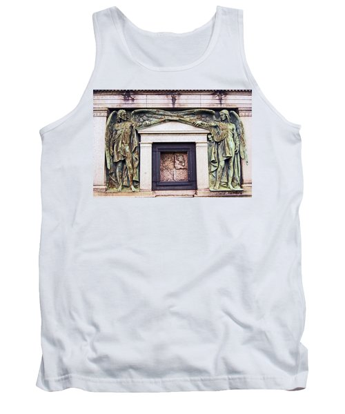 18/09/13 Glasgow. The Necropolis, Double Angels. Tank Top