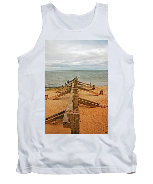 19/08/13 Edinburgh, Poetobello. The Shore And Groynes. Tank Top