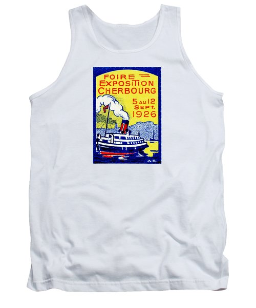 1926 Cherbourg France Exposition Tank Top