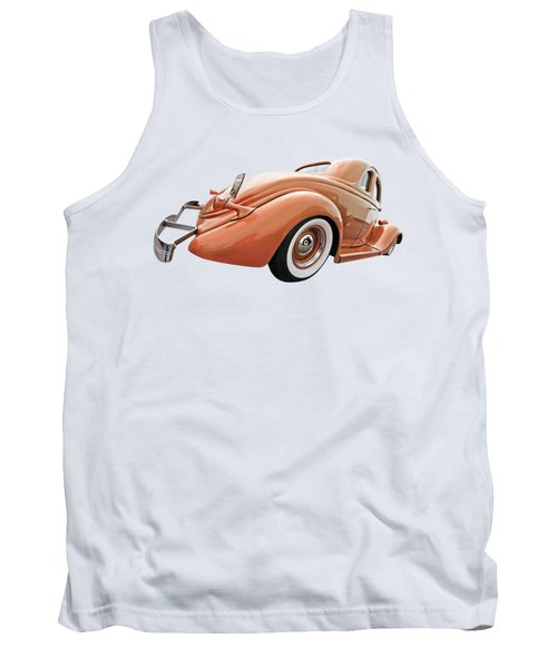 1935 Ford Coupe In Bronze Tank Top