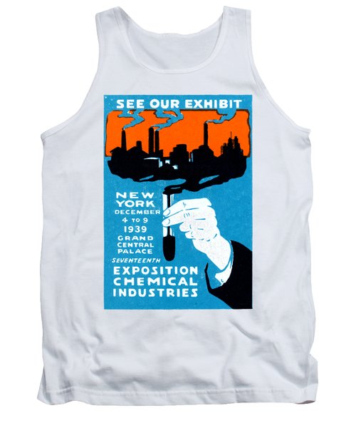 1939 Nyc Chemical Expo Poster Tank Top