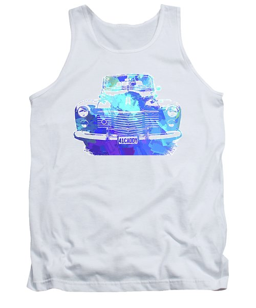 1941 Cadillac Front Abs Blue Tank Top