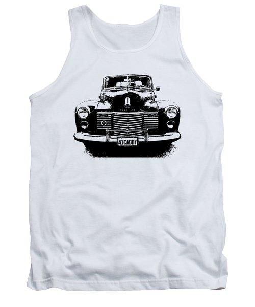 1941 Cadillac Front Blk Tank Top